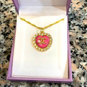 Authentic Chanel Swarovski Crystal Necklace
